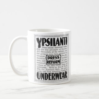 Ypsilanti Dress Reform Underwear Basic White Mug
