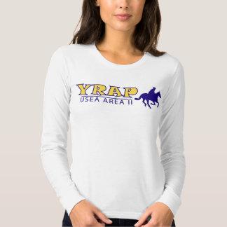 YRAP Ladies Long Sleeve (Fitted) T Shirt