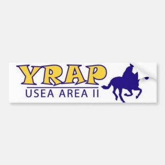 YRAP Logo Bumper Sticker