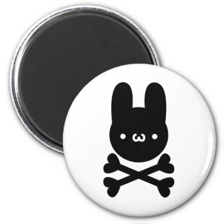 yu? Rabbit do ku ro 6 Cm Round Magnet