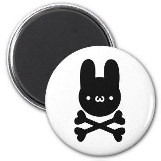 yu? Rabbit do ku ro Fridge Magnets