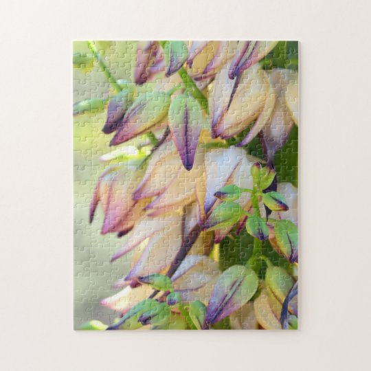 yucca flowers jigsaw puzzle