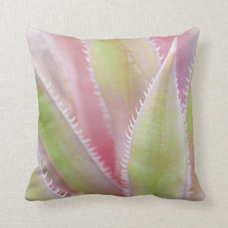 Yucca plant close-up throw cushion