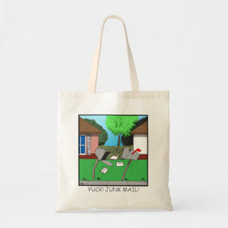 Yuck! Junk Mail! Tote Bag