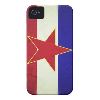 Yugoslavia flag Case-Mate iPhone 4 cases