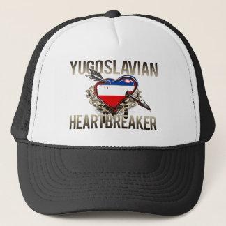 Yugoslavian Heartbreaker Trucker Hat