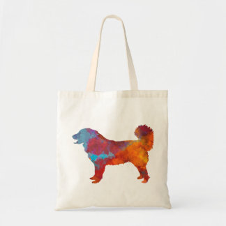 Yugoslavian Shepherd DOG in watercolor Tote Bag