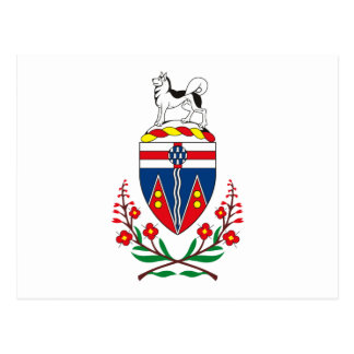 Yukon Coat of Arms Postcard