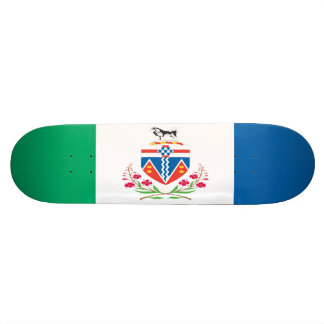 Yukon Flag Skateboard