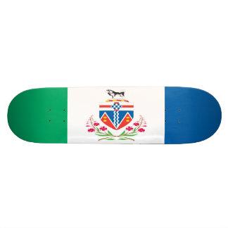 Yukon Flag Skateboard