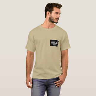 Yukon Whitehorse Food bank team tan tee shirt