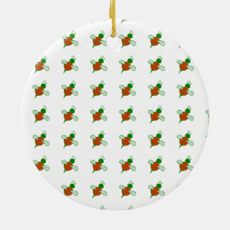 Yule Bees Holiday Ornament