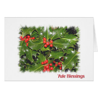 Yule Blessings Card