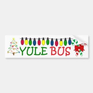 Yule Bus Deco 2 sticker