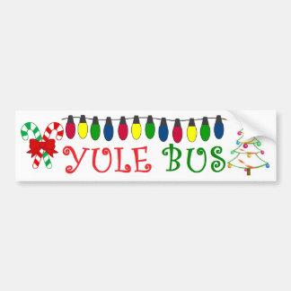 Yule Bus Lights Deco 4 sticker