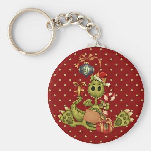 Yule Dragon Key Chains