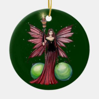 Yule Fairy Christmas Ornament