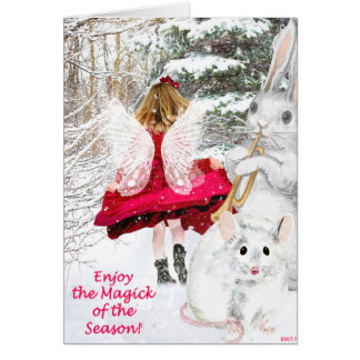 Yule Fairy Greeting Card