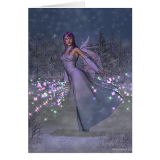 Yule Fairy Greetings Card
