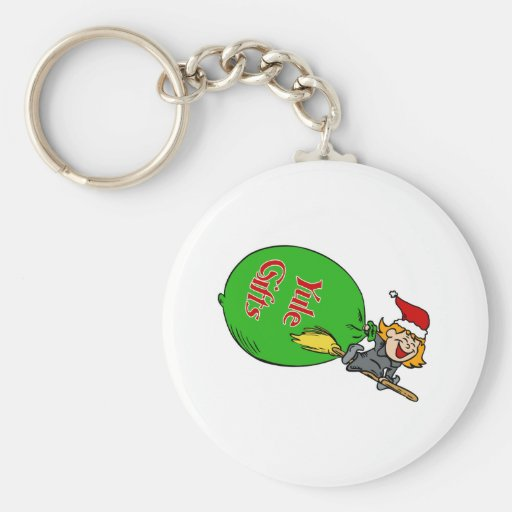 Yule gifts keychains
