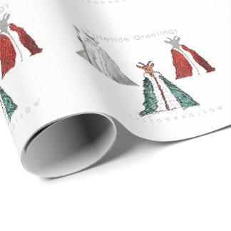 Yule Goat Gift Wrap