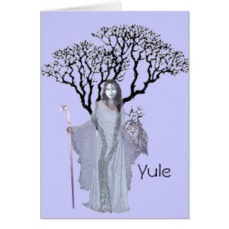 Yule - Hecate Blessings Card