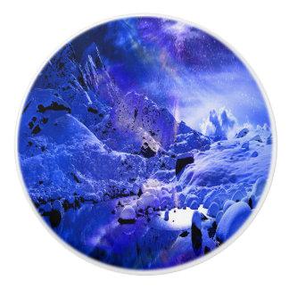 Yule Night Dreams Ceramic Knob
