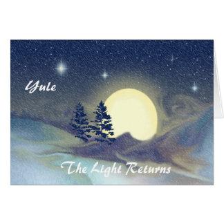 Yule-The Light Returns Card