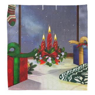 Yule Time Reflections Holiday Art Bandannas