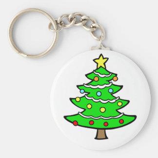 Yule Tree Keychain