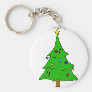 Yule Tree Keychains