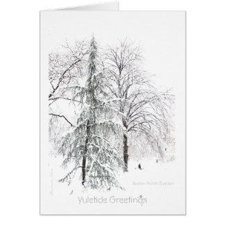 Yuletide: Enjoy the pleasures of the seasons Card