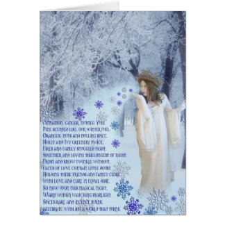 Yuletide Poem Card