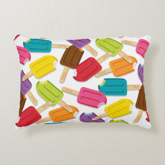 Yum! Accent Pillow - White Accent Cushion