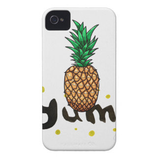 yum_ananasli iPhone 4 case