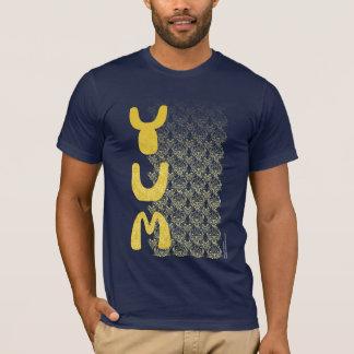 YUM Breakfast Damask Pattern Art T-Shirt