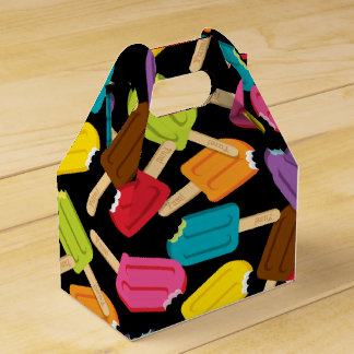 Yum! Favor Box — Black Party Favour Boxes