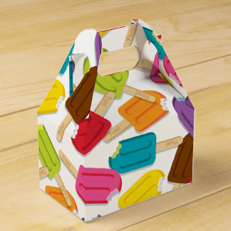 Yum! Favor Box — White Wedding Favour Box