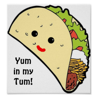 Yum in my Tum! Poster