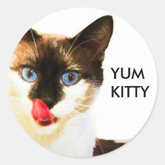 Yum Kitty Sticker