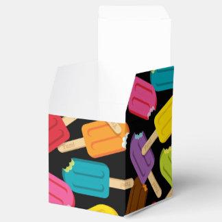Yum! Popsicle Favor Box — Black Party Favour Boxes