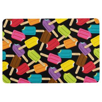 Yum! Popsicle Floor Mat - Black