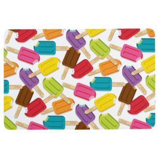 Yum! Popsicle Floor Mat - White
