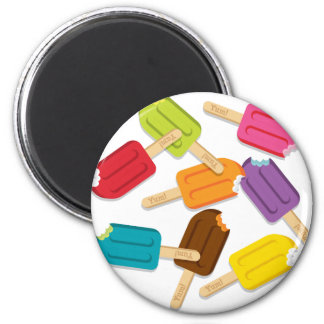 Yum Popsicle Magnet