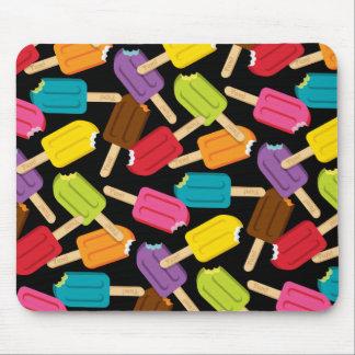 Yum Popsicle Mousepad — Black