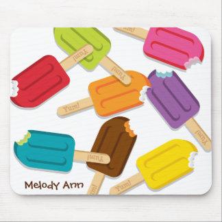 Yum Popsicle Mousepad CUSTOMIZABLE