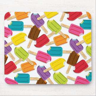 Yum Popsicle Mousepad — White