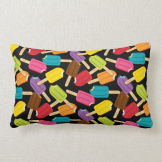 Yum! Popsicle Pillow — LUMBAR (Black) Cushions