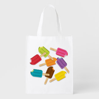 Yum! Popsicle Reusable Grocery Bag