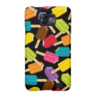 Yum! Popsicle Samsung Galaxy Case — Black Galaxy S2 Covers